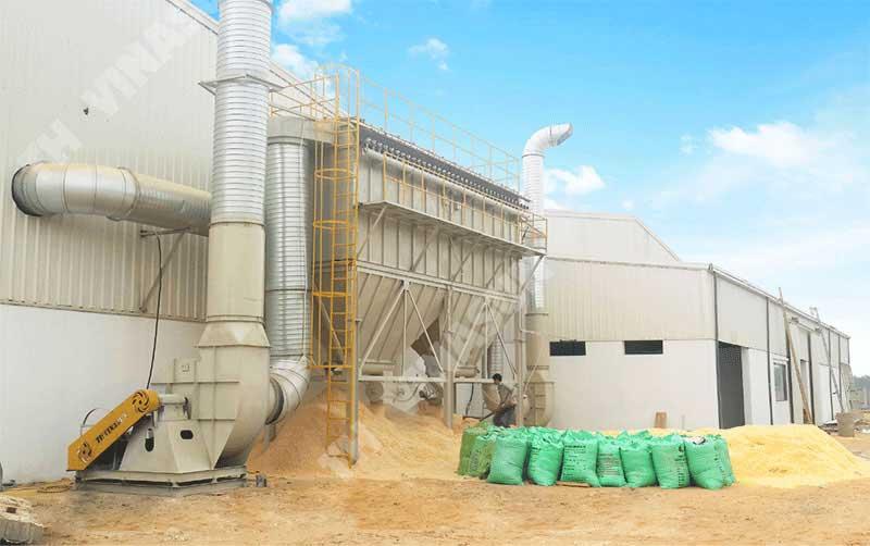 Hệ thống hút lọc bụi gỗ Tasa Group - do TH Vinasun sản xuất và lắp đặt