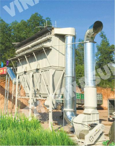 Hệ thống hút lọc bụi gỗ khác TH Vinasun đã triển khai