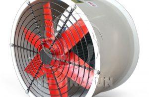 Quạt thông gió nhà xưởng thân tròn VNS-A1-N-T