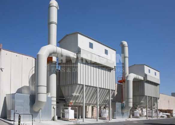 hệ thống xử lý hút bụi nhà máy gạch