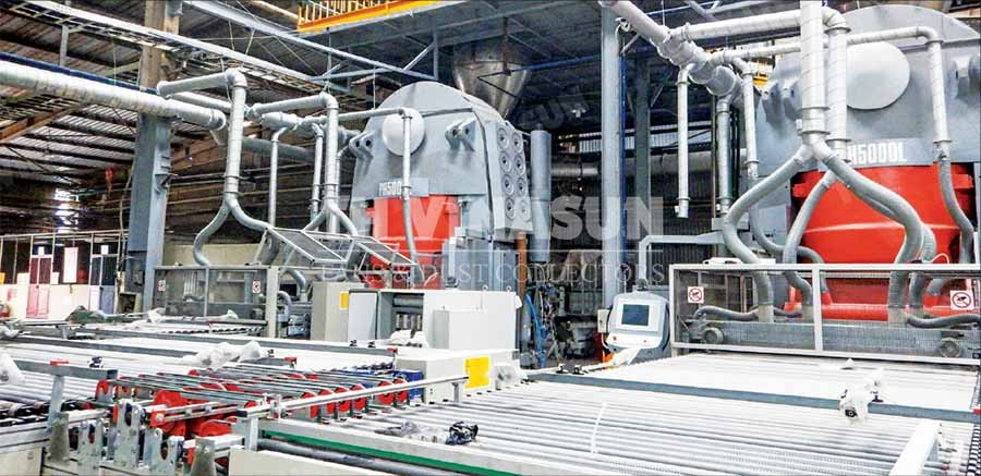 hệ thống xử lý bụi nhà máy gạch