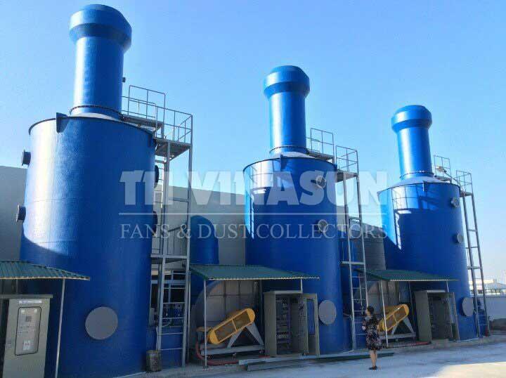 xử lý khí thải lò đốt