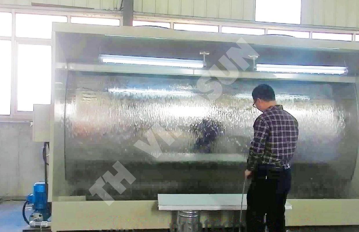 hệ thống xử lý sơn máng nước
