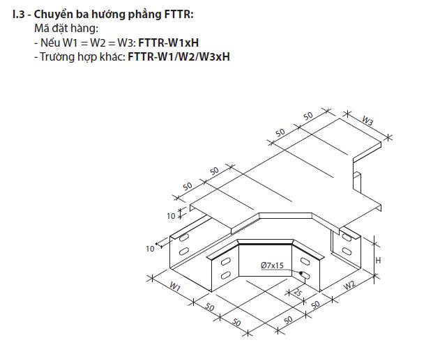 Chuyển ba hướng phẳng FTTR