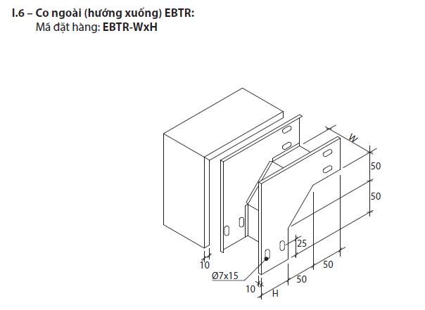 Co ngoài (hướng xuống) EBTR