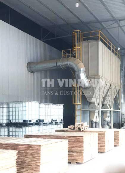 hệ thống hút lọc bụi gỗ