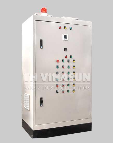 tủ điều khiển hệ thống hút lọc bụi