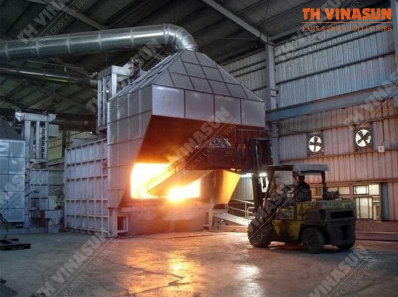 xử lý bụi nhà máy thép đặc biệt
