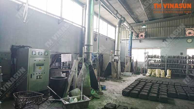 xử lý bụi nhà máy đá