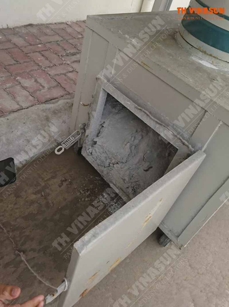 xử lý bụi đá