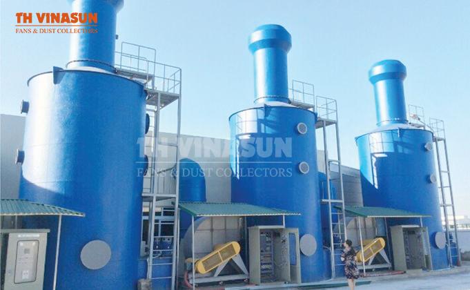 Xử lý khí thải bằng phương pháp hấp thụ