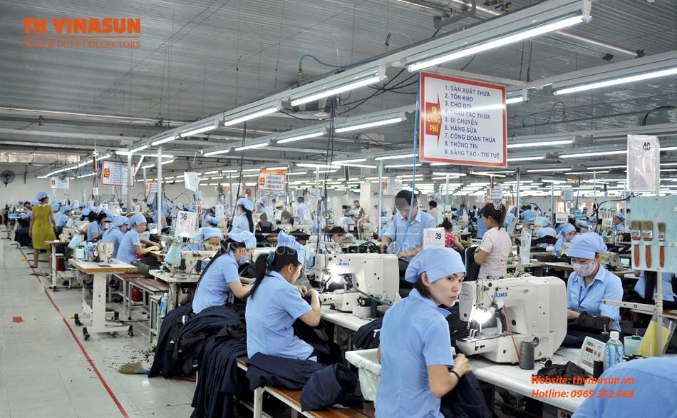 Tạo môi trường trong lành, sạch sẽ, tươi mát bảo vệ sức khỏe của công nhân và máy móc