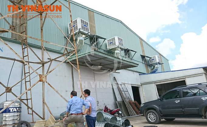 giải pháp làm mát nhà xưởng bằng máy làm mát hơi nước