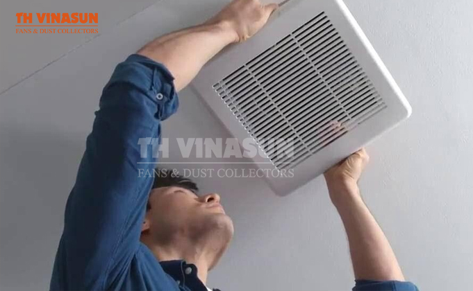 những lợi ích khi lắp đặt quạt hút mùi nhà vệ sinh gắn tường