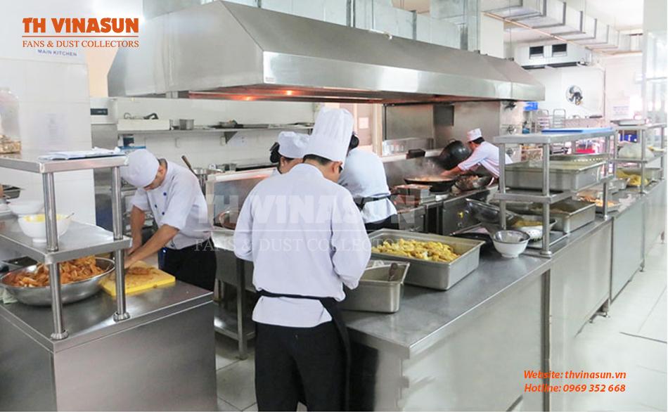 Bếp tại các nhà hàng, khách sạn