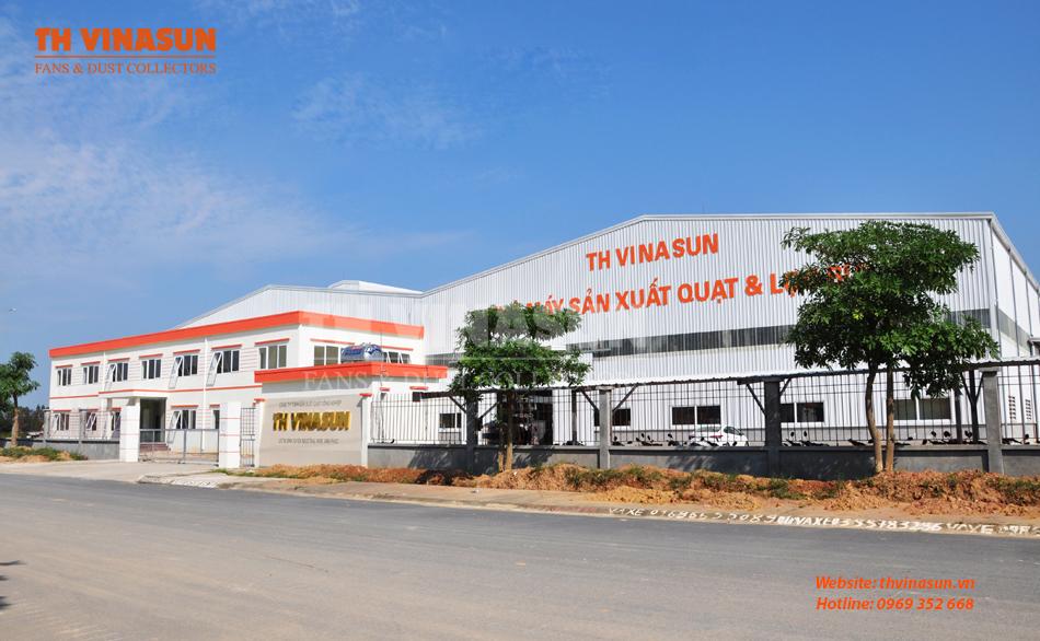 Nhà máy sản xuất quạt CN và hệ thống xử lý bụi Th Vinasun