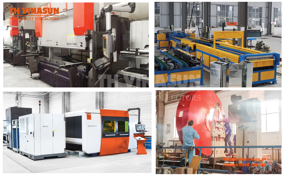 Công nghệ sản xuất quạt công nghiệp hiện đại