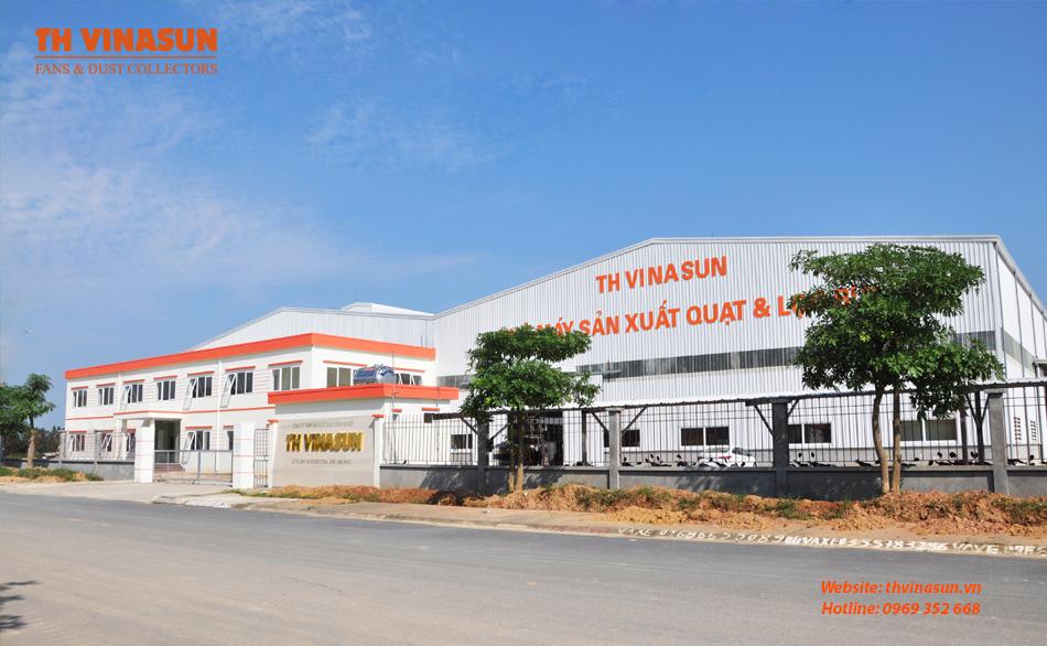 Nhà máy sản xuất quạt công nghiệp Th Vinasun