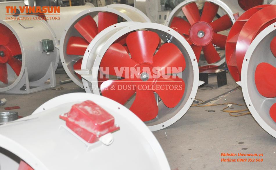 Quạt thông gió công nghiệp tròn