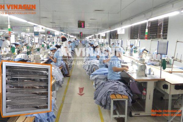 Quạt làm mát nhà xưởng công nghiệp